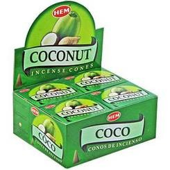 HEM | Wierook - kegels | Coconut