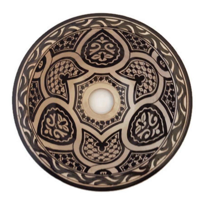 Marokkaanse waskom - 25 cm | Zagora