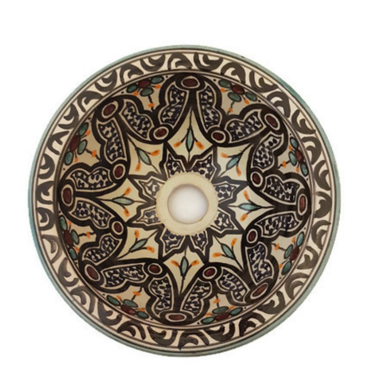 Marokkaanse waskom - 25 cm   Alhambra