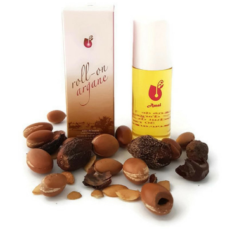 Arganolie cosmetisch - roller 30 ml.