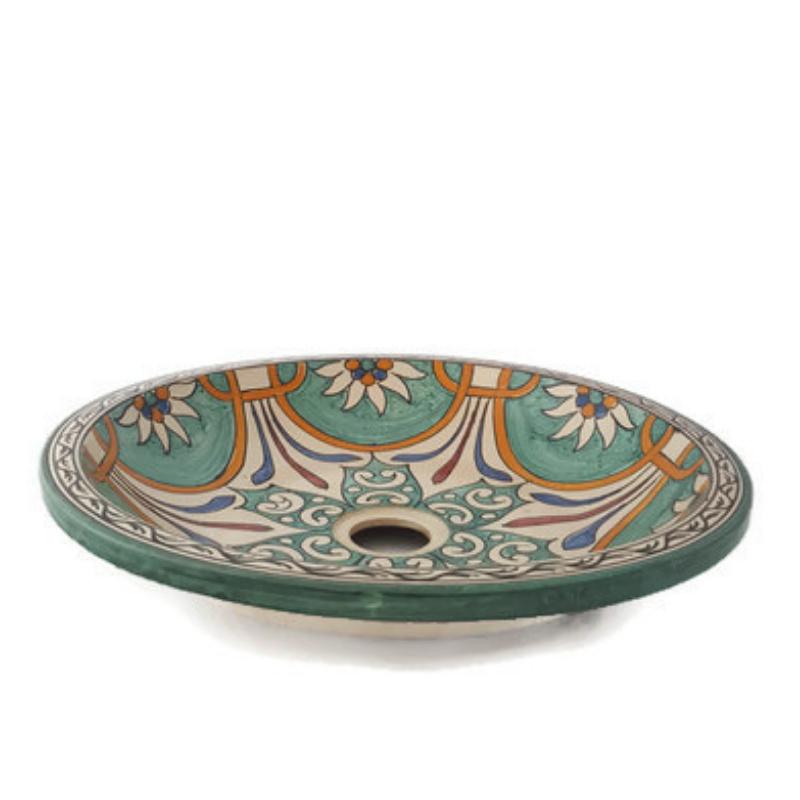Marokkaanse wastafel - 40 cm | Alia