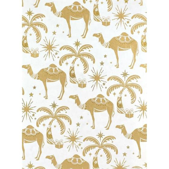 Camel Wrap | Gold