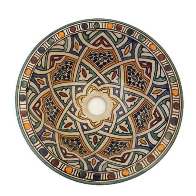 Marokkaanse waskom - 30 cm | Mandala