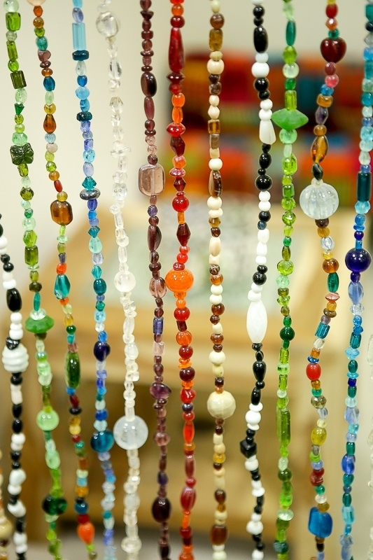 Glaskralengordijn | all colors