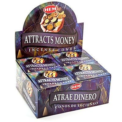 HEM   Wierook - kegels   Attracts Money