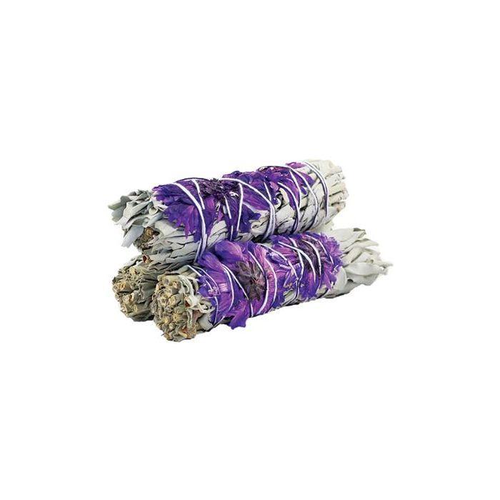 Witte salie | Smudge | Purple Daze