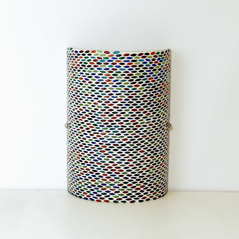 Wandlamp - Glasmozaiek   multicolor - seeds