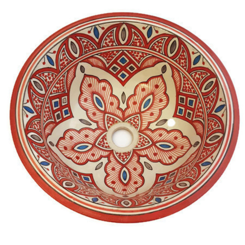 Marokkaanse waskom - 40 cm | Hamra