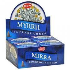 HEM | Wierook - kegels | Myrrh