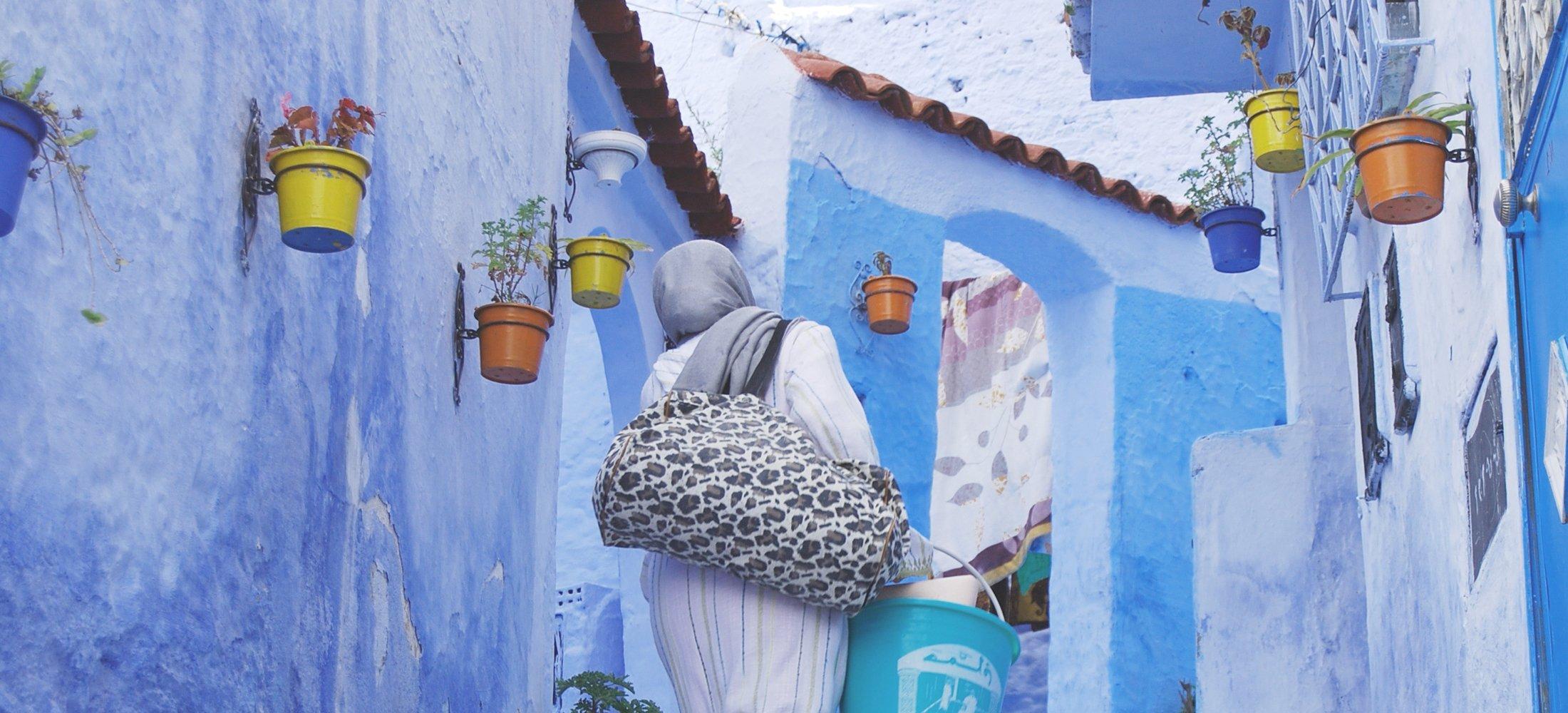 Blauw Marokko