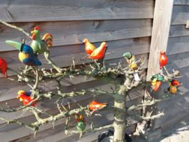 Vogels op stok