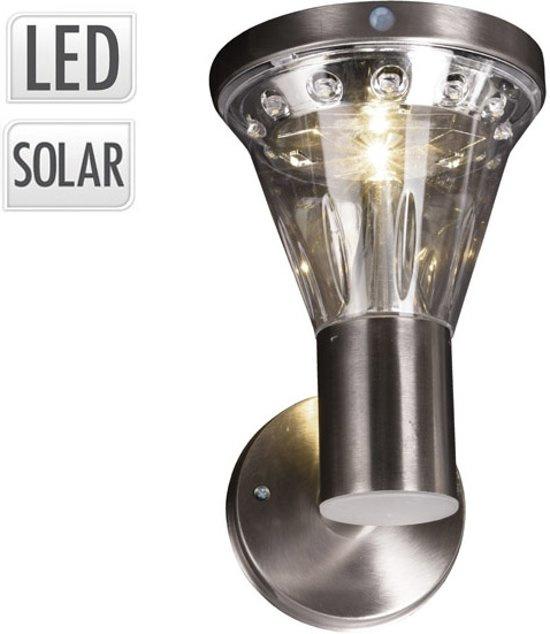 ProGarden Solar RVS Wandlamp