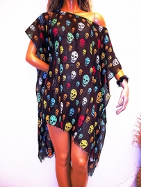 PON492 NEW IBIZA BEACH PONCHO SOLD