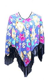PON636 NEW IBIZA BEACH PONCHO 36 / 56 SOLD