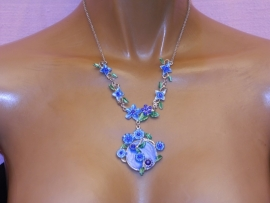 23 KET272 BLUE NEW FASHION*JEWELRY