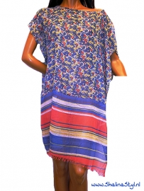 PON610 NEW IBIZA BEACH PONCHO  34 t/m 56