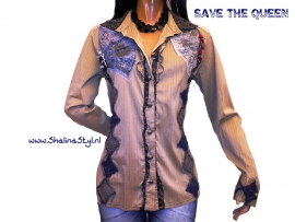 # BLQ686  NEW SAVE*THE*QUEEN  M L XL SOLD
