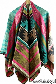 PON535 NEW IBIZA  PONCHO 34 t/m 56 SOLD
