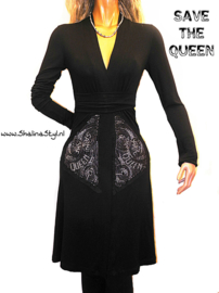 # VQ682 NEW  SAVE*THE*QUEEN S M  L (XL XXL Sold)