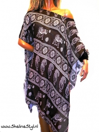 PON616 NEW IBIZA BEACH PONCHO  SOLD