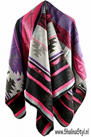 PON533 NEW IBIZA PONCHO 34 t/m 56 SOLD