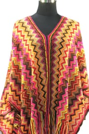 PON566 NEW IBIZA PONCHO 34 t/m 56 SOLD