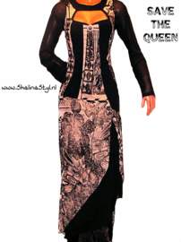 # W 1 JQ421 NEW  SAVE*THE*QUEEN S M L  XL SOLD