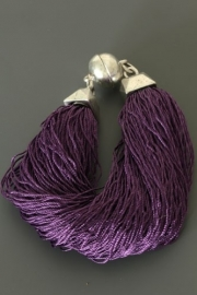 24 AR48537 PURPLE NEW FASHION*JEWELRY