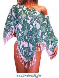PON550 NEW IBIZA BEACH PONCHO 34 t/m 54