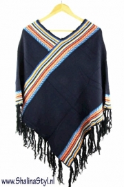 PON537 NEW IBIZA  PONCHO 34 t/m 56 SOLD