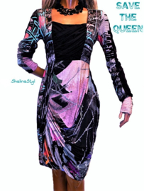#  W DQ960  NEW SAVE*THE*QUEEN S M L XL