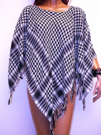 PON466 NEW IBIZA PONCHO  34 t/m 54 SOLD