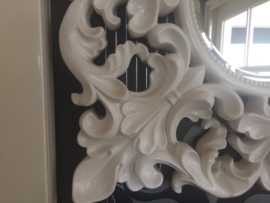 Prachtige brocante spiegel in barok lijst