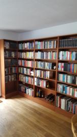 boekenkast (Mahonie fineer)