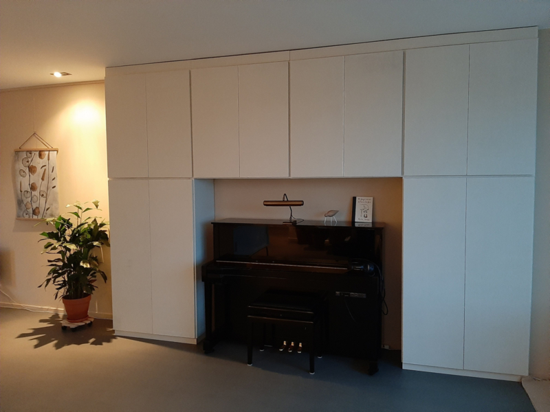 ombouw om piano (MDF)