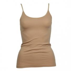 Beeren dames hemd Tactel  (micro) smal bandje huid