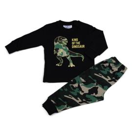 Dinosaurus Fun2Wear peuter pyjama geel (92/98/104)