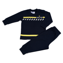 Politie uniform Fun2Wear pyjama navy (140 en 152)