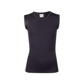 Beeren jongens mouwloos t-shirt mirco (Tactel) zwart