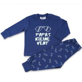 Papa's kleine vent Fun2Wear baby pyjama blauw (62 t/m 86)