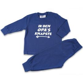 Opa's knapste Fun2Wear baby pyjama blauw (62 t/m 86)