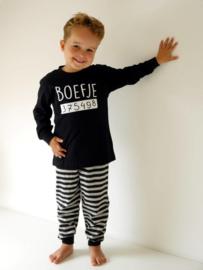 Fun2Wear Boefje peuter pyjama zwart (92 t/m 128)