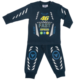 Fun2Wear Racing 46 baby pyjama navy (62 t/m 86)
