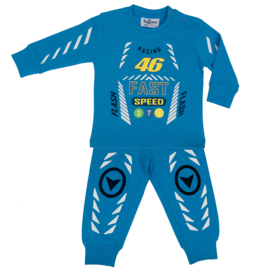 Fun2Wear Racing 46 baby pyjama aqua (62 t/m 86)