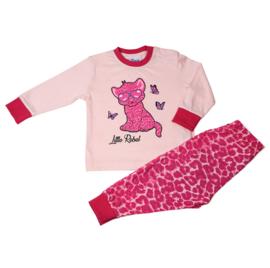 Little Rebel baby pyjama l. roze (92 t/m 128)