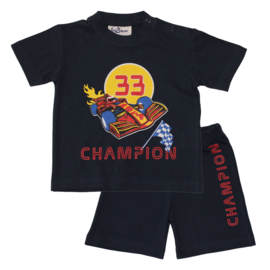 Fun2Wear Formule 1 Champion baby shortama (62 t/m 86)