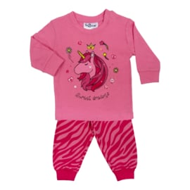Fun2Wear Sweet Dreams baby pyjama d. roze (62 t/m 86)