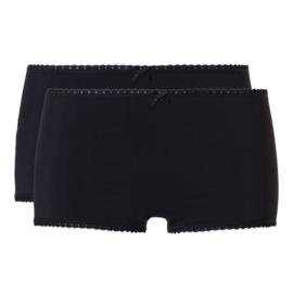 Ten Cate Goodz dames shorts zwart (2-pack) M/L/XL