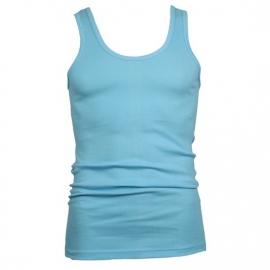 Beeren heren hemd/singlet licht blauw