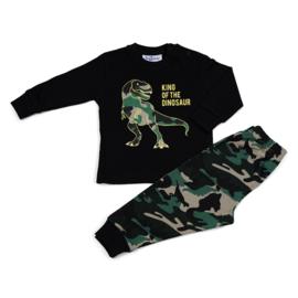 Dinosaurus Fun2Wear baby pyjama geel (62 t/m 86)
